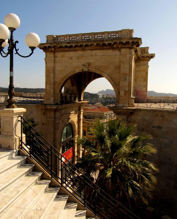 Kaljari pilsēta Sardīnijā