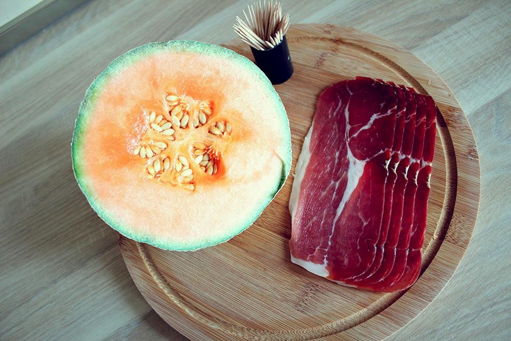 Melones uzkodas