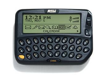 Blackberry first phone RIM 850
