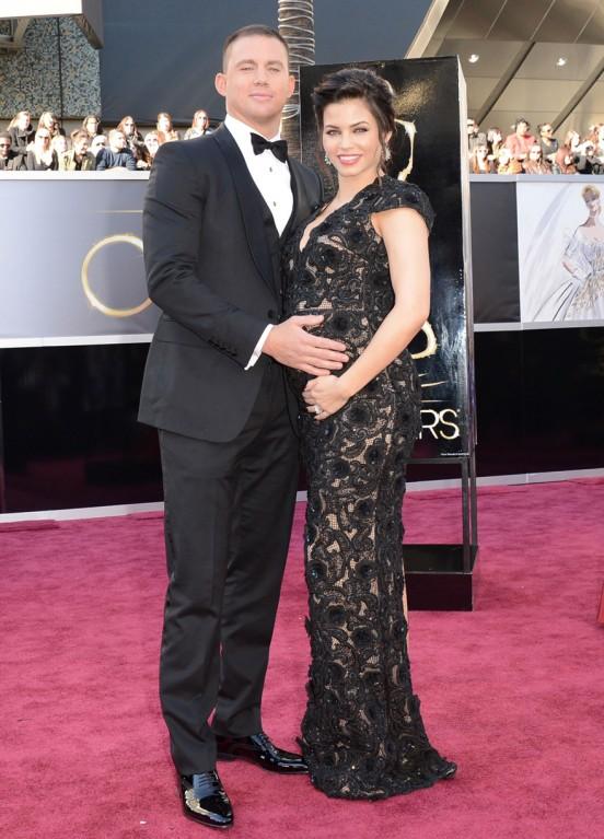 JENNA DEWAN at Academy Awards