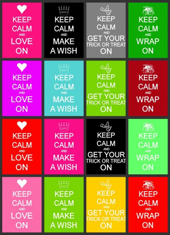 keep-calm-holiday-prints-collage