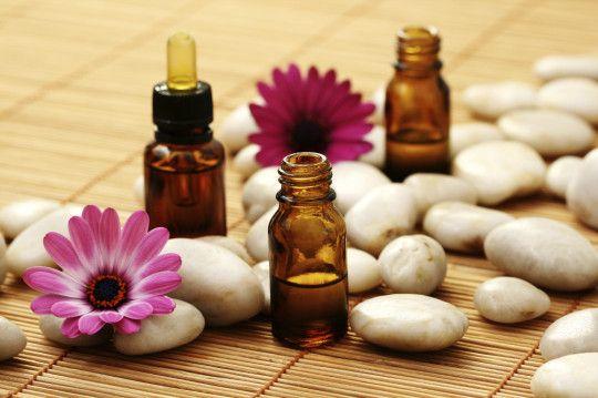 Baha ziedu terapija