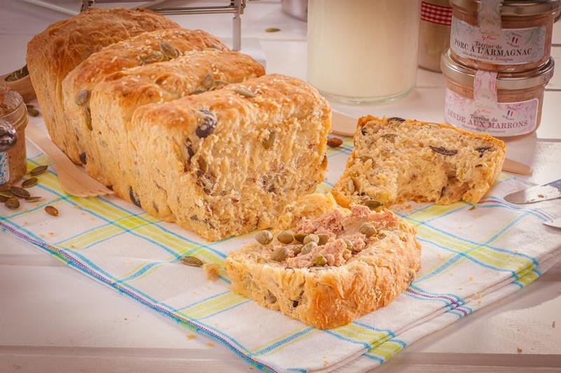 Olīvu sēklu maize