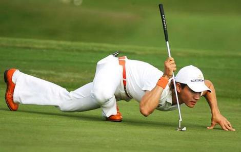 Golfs + joga? Līdz šim vēl nebijušas nodarbības!