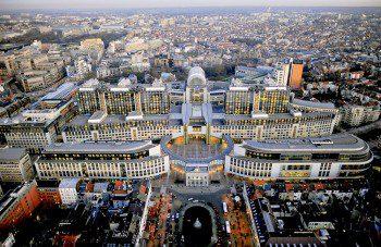 European Parlimant Headquarters in Brussels