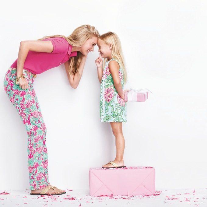 Iedvesmas galerija: foršās mammas un meitas