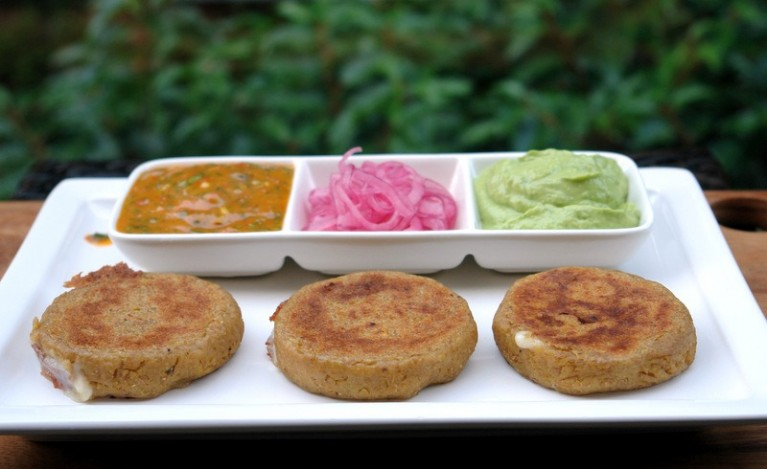 5-Serve-the-green-plantain-patties-with-sauces-or-toppings