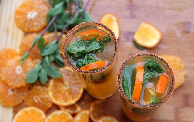 Mandarin-mojito-cocktails