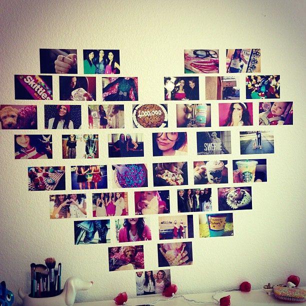 Radošas idejas foto sienai