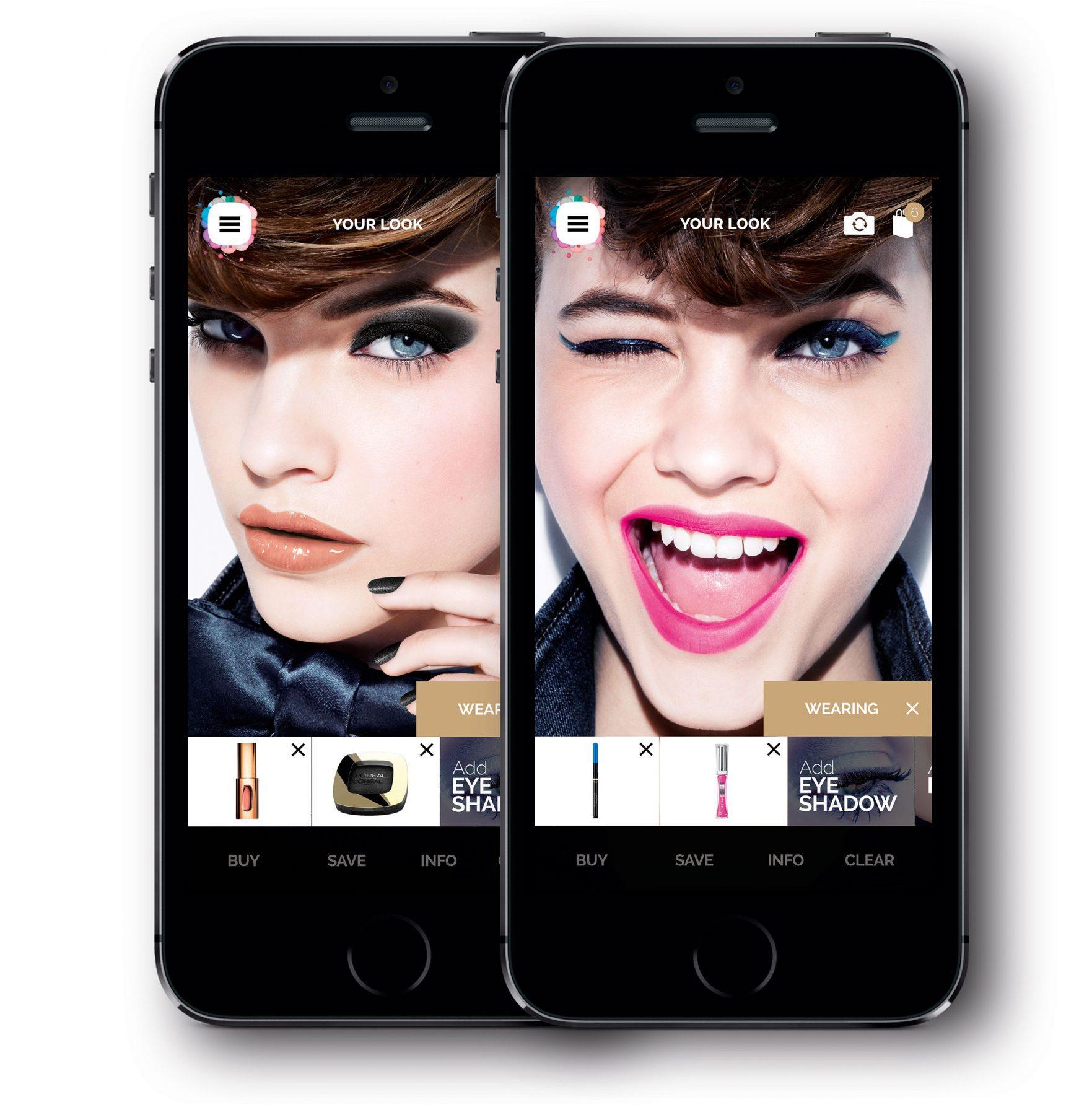Pielaiko make up virtuālajā spogulī