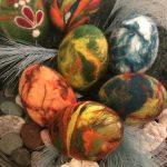 Filcēšana. Lieldienu olas
