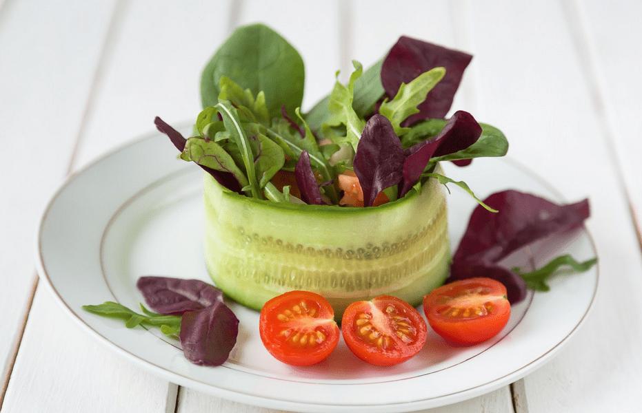 Krāsainas salātu idejas