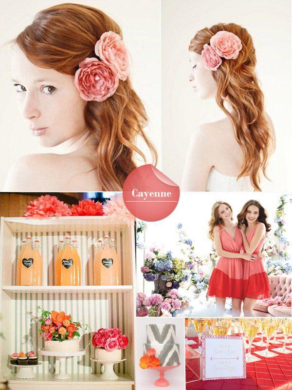 Vasaras kāzu krāsu tendences 2014