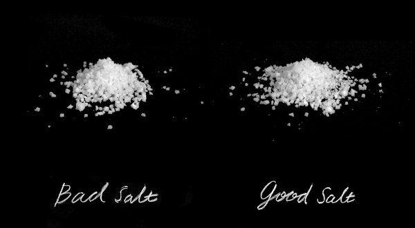 Sāls ir neveselīgs! Kas tās par muļķībām?