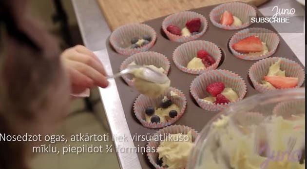 Videopamācība kā pagatavot pasaulē gardākos kēksiņus