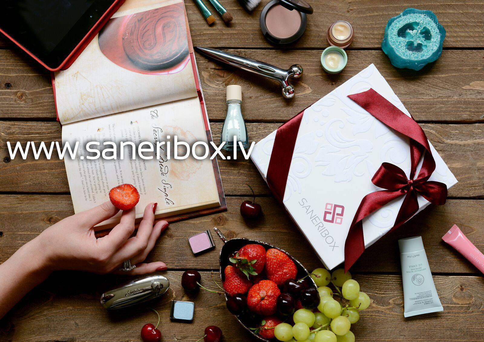 Laimē iespēju notestēt SANERIBOX skaistuma kastīti!