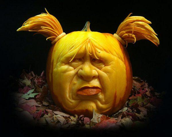 Mākslinieka skatījums uz Helovīniem