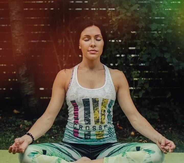 Viktorija Kosīte. Labs treniņš un meditācija – garīgās un fiziskās veselības atslēga.